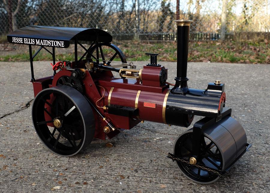 Maxitrak 3 4 Inch Scale Allchin Steam Car Engine Diagram