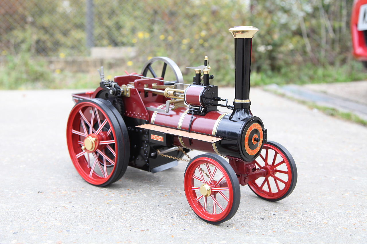 1 Inch scale Burrell Agricultural locomotive