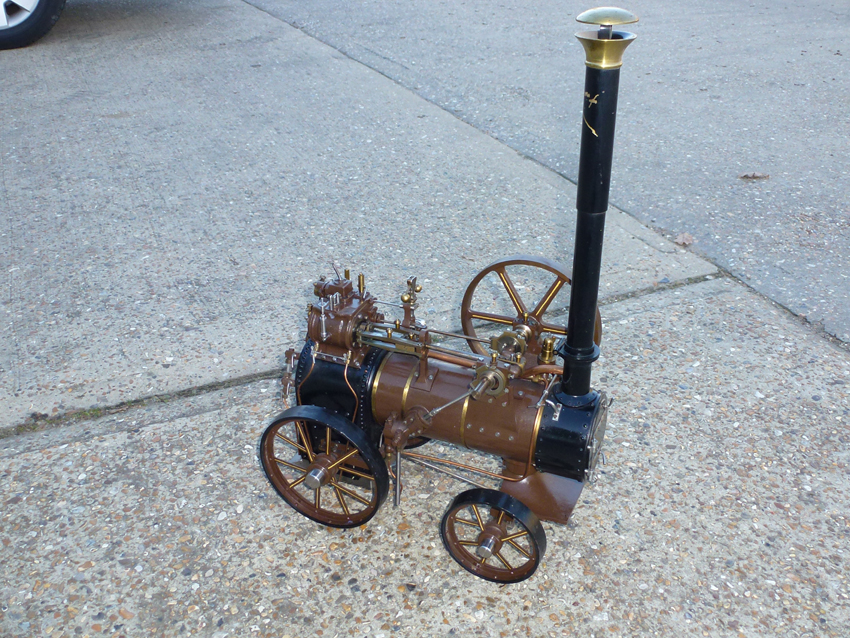 Portable Marshall Engine 1 1/2 Inch Scale