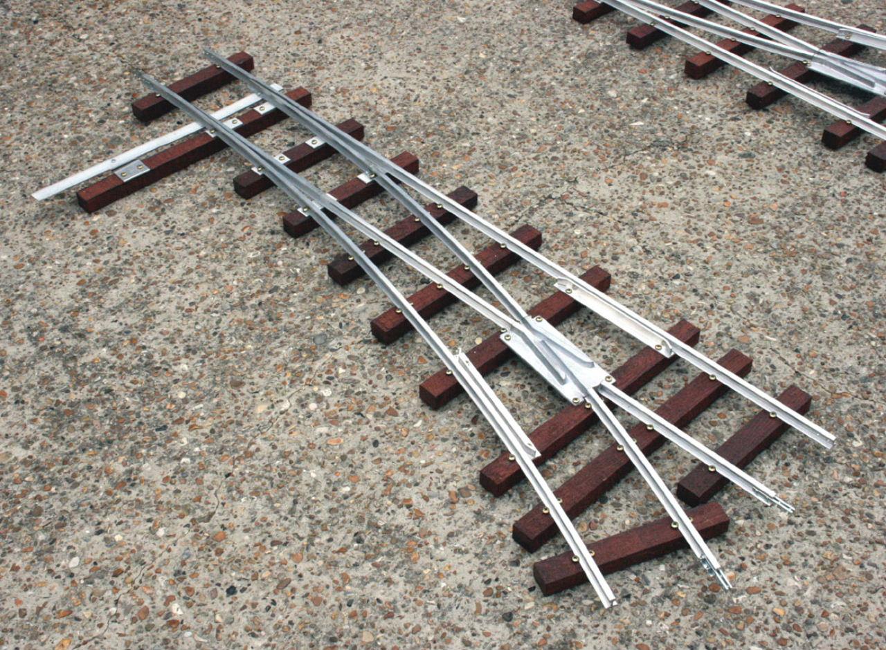 Maxitrak - Hardwood sleeper track